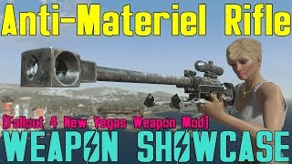 Fallout 4: Weapon Showcases: Anti-Materiel Rifle (F4NV Weapon Mod)