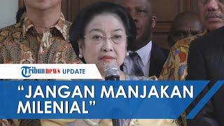 Megawati Minta Jokowi Tak Manjakan Kaum Muda, Ketum PDIP: Apa Sumbangsihnya Generasi Milenial?