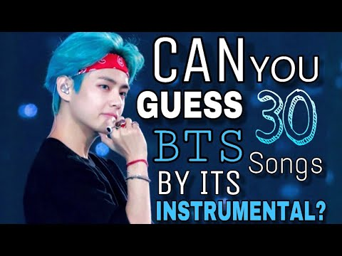 CAN YOU GUESS THE BTS SONG BY ITS INSTRUMENTAL?