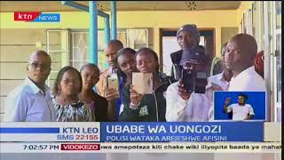 Ubabe wa uongozi uonekana Muranga katika afisi za MUWASCO