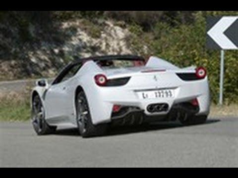 Ferrari 458 Spider video review