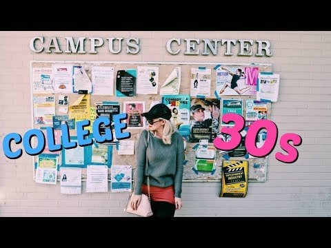 COLLEGE IN YOUR 30s| Back to School | College Mom Life