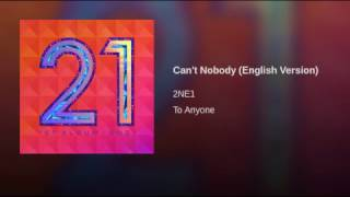 Can't Nobody (English Version)
