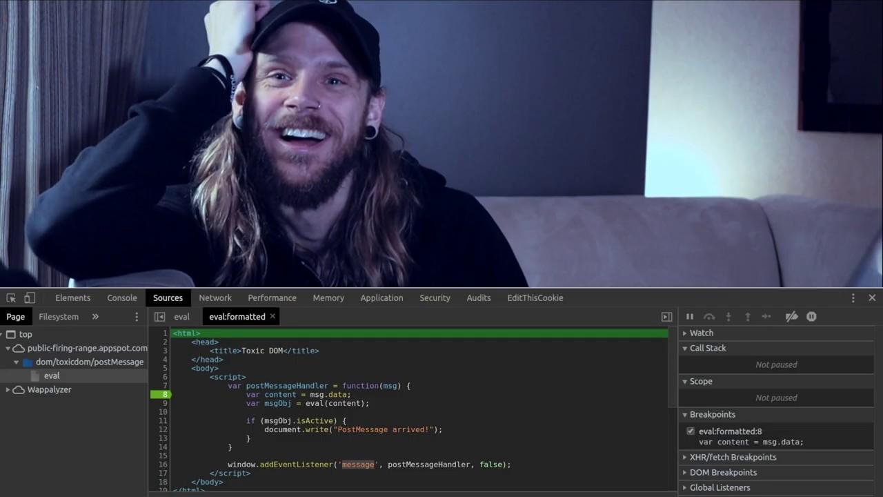 Hacker101 - JavaScript for Hackers (Created by @STÖK)