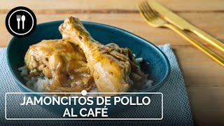 Receta fácil y rápida de jamoncitos de pollo al café