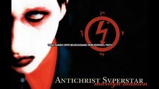Marily Manson- Antichrist  Superstar (Full Album)