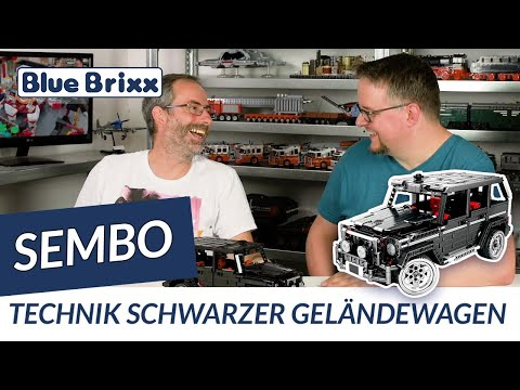 Technik Schwarzer Geländewagen