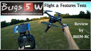 MJX Bugs 5W B5W Brushless GPS FPV drone review - Flight & Features tests (Part II)