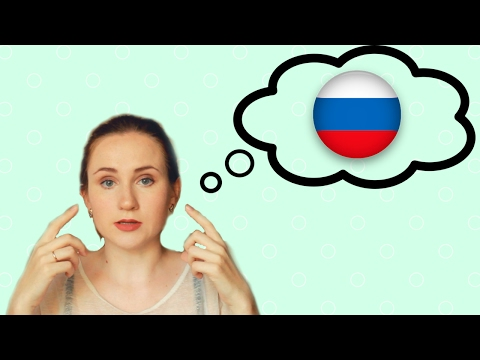 Tips for learning Russian - Learn how to THINK in Russian - YouTube