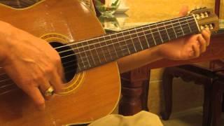 """bản guitar """" Riêng một góc trời"""" rất hay"""