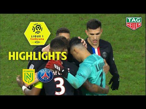 FC Nantes – Paris Saint-Germain ( 1-2 ) – Highlights – (FCN – PARIS) / 2019-20