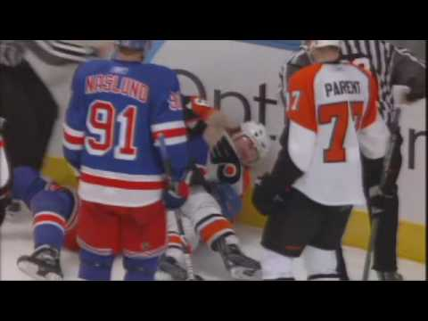 Brandon Dubinsky vs. Scott Hartnell