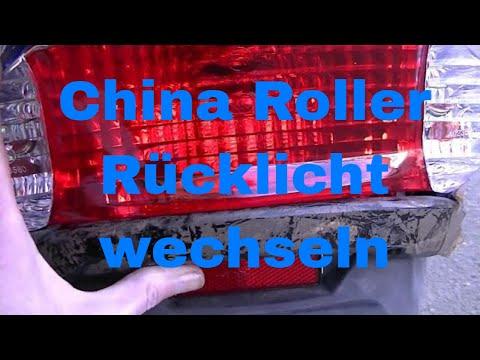 Rex RS450 Roller Rücklicht hingepfuscht - eflose #881