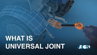 What is a UNIVERSAL JOINT - Cardan or Constant-velocity Joint?