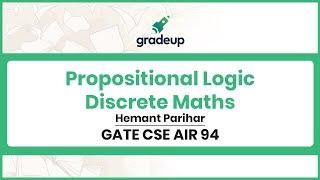 Propositional Logic GATE Questions | Discrete Maths | GATE CSE 2019