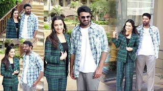 Shraddha-Prabhas Look so CUTE Like They were made for Each Other Moments @SaahoMovieEvent