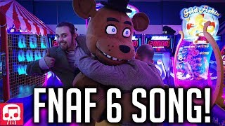 "FNAF 6 Song by JT Music - ""Now Hiring at Freddy's"" (Live Action Music Video)"