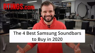 Video: The 4 Best Samsung Soundbars to Buy in 2020