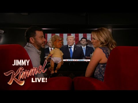 Jimmy Kimmel & Stormy Daniels Watch Trump's State of the Union