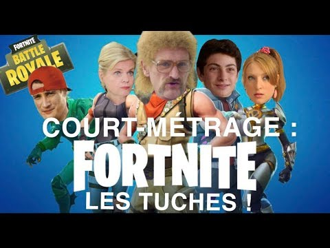 COURT-METRAGE FORTNITE: LES TUCHES !!