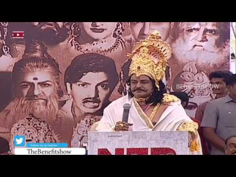 Nandamuri Balakrishna Speech at NTR Biopic Launch Event