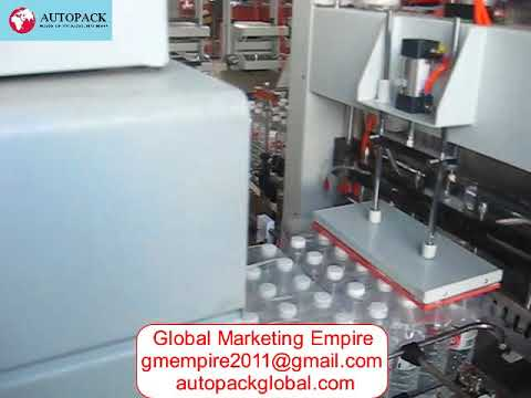 Tunnel Automatic Pusher and Sleeve Wrapper