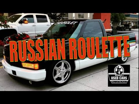 , title : 'Russian Roulette - Rabbit's Used Cars'