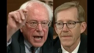 """""""IS CLIMATE CHANGE A HOAX??!!"""" Bernie Sanders Uses Senate Hearing to DESTROY Donald Trump"""