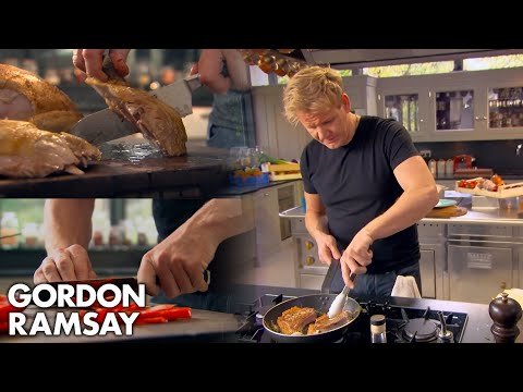 Gordon Ramsay Demonstrates Basic Cooking Skills