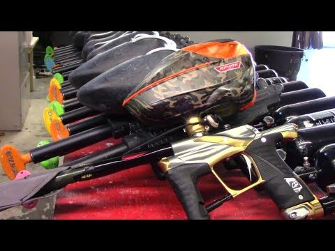 Planet Eclipse EGO LV1.5 Paintball Gun  – Review – Shooting – Gameplay