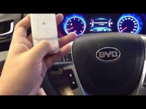 BYD F5 remote