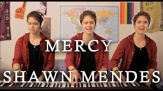 Mercy  ONE WOMAN BAND  Shawn Mendes Cover
