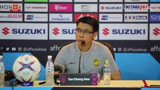 HLV Malaysia: Tôi ấn tượng với ba cầu thủ của Việt Nam | AFF Cup 2018