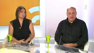Invitée sur France 3 région, et en direct !