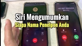 Cara Agar iPhone Membacakan Nama Penelpon Saat Ada Telepon Masuk