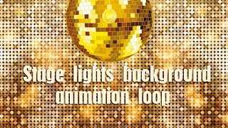 Disco stage lights background video effects   stage background video loop   stage lights animation