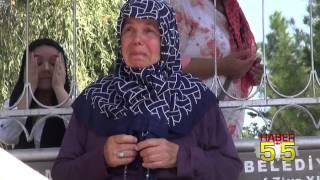 SAMSUN'DAKİ ŞEHİT MEZARLIKLARINDA YÜREK BURKAN GÖRÜNTÜLER...