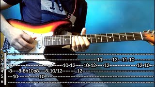 (COVERLESSON) Eric Clapton I Shot The Sheriff Live In Crossroads 2010 Intro (TABS) Tutorial