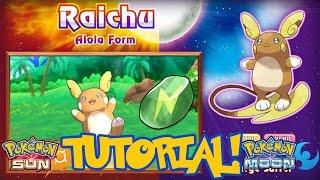 Pokémon Sun & Moon - How To Get Raichu! (Thunderstone Location For Alolan Raichu)