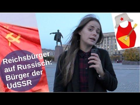 Reichsbürger auf Russisch: Bürger der UdSSR [Video]