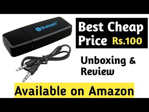 Best cheap Bluetooth Audio receiver on Amazon |  Taravision Bluetooth Stereo Adapter Audio Receiver