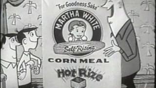 Martha White Corn Meal-Lester Flatt with Grant Turner Voiceover 60sec TV