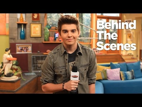 Thundermans Set Visit with Jack Griffo Part 1