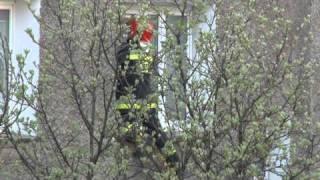Akcja Straży Pożarnej - Wolsztyn