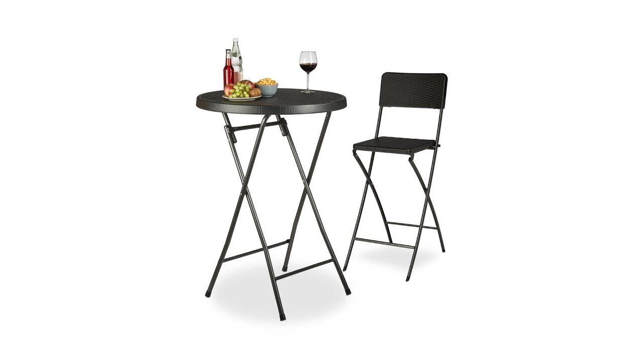 stehtisch klappbar bastian rund 80 x 80 cm kaufen. Black Bedroom Furniture Sets. Home Design Ideas