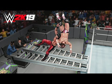 WWE 2K19 Top 10 Extreme Burning Hammers!