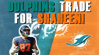 Miami Dolphins Trade For TE Adam Shaheen!! Roster Cuts & Updates!