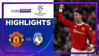 แมนเชสเตอร์ ยูไนเต็ด 3-2 อตาลันต้า   ยูฟ่า แชมเปี้ยนส์ ลีก ไฮไลต์ Champions League 21/22