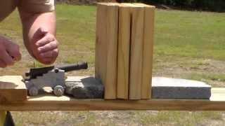CANNON VS WOOD BLOCKS