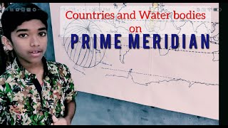Longitudes | Countries on Prime meridian | World Geography